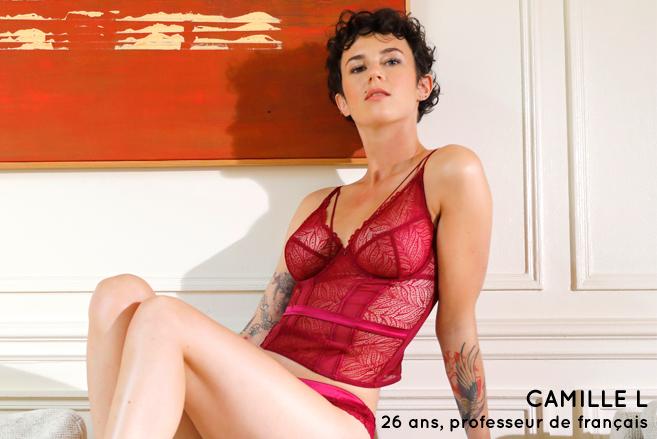 Camille L 26 ans, professeur de français