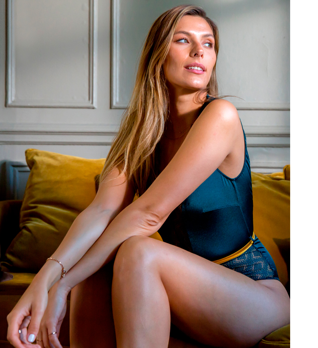 Collection lingerie Camille Cerf