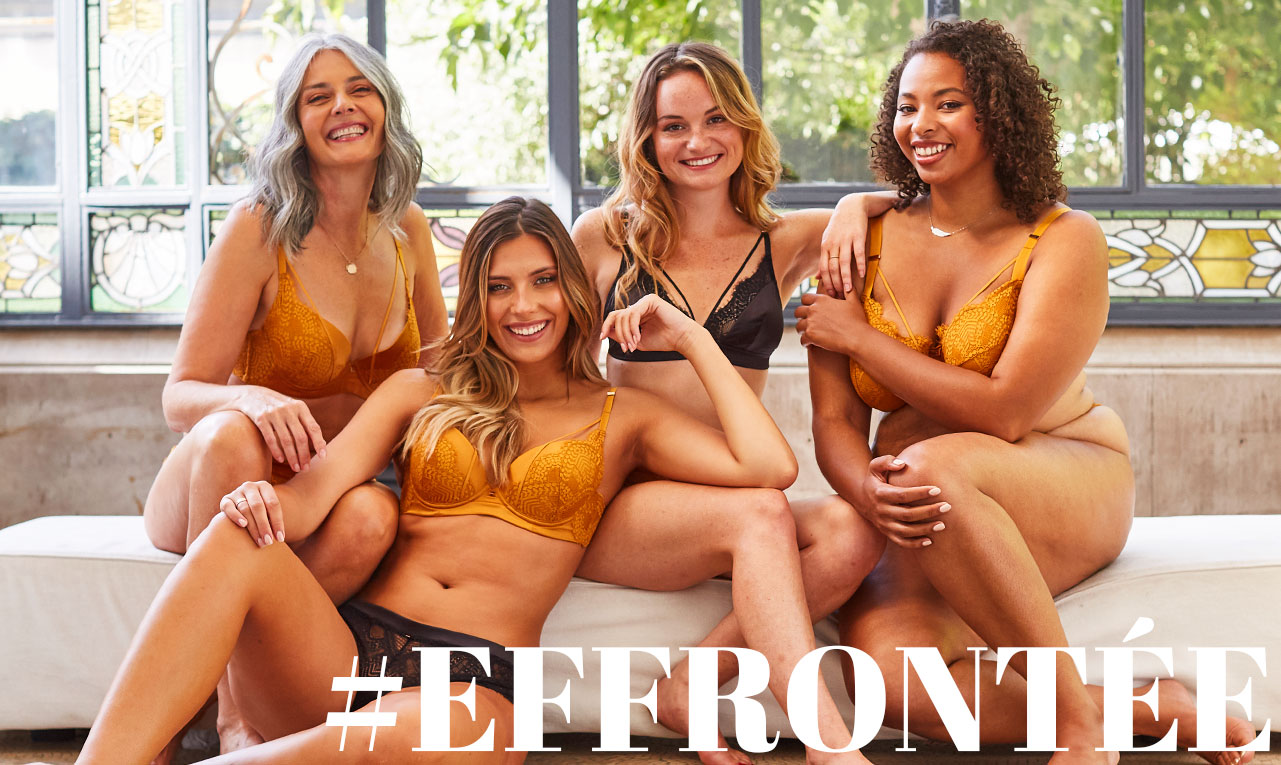 La gamme EFFRONTEE by Camille Cerf & Pomm'Poire
