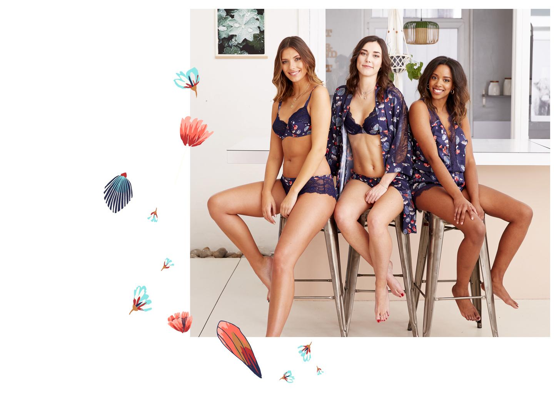 Gamme ESPIÈGLE de la collection lingerie Camille Cerf