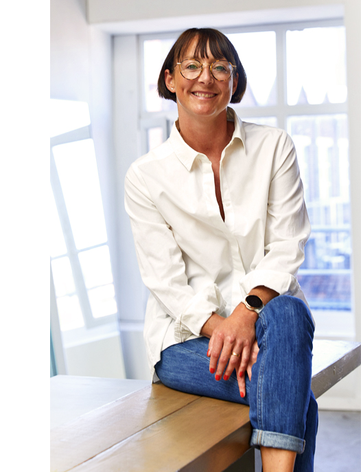 Anne Montaye, co-fondatrice de la marque de lingerie Pomm'Poire