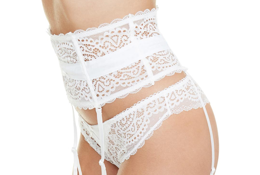 Serre-taille lingerie mariage
