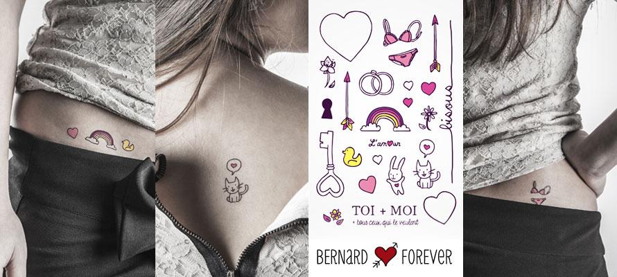 Planche de tatoo Oh l'Amour, le retour