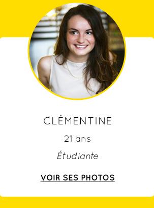 Clémentine - 21 ans - Étudiante - VOIR SES PHOTOS