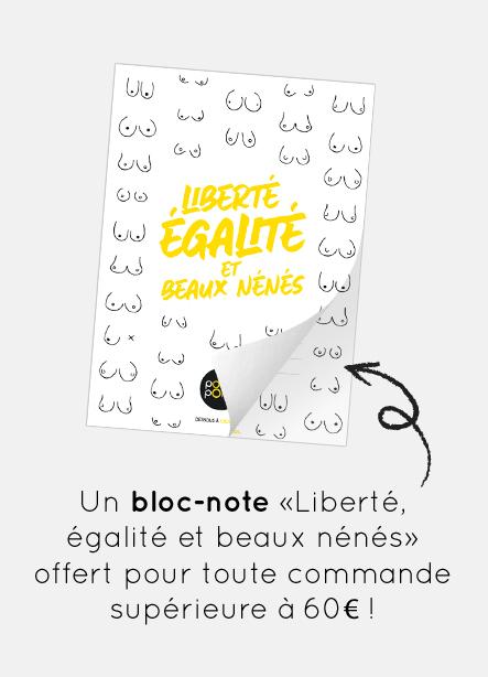 Encart bloc-note offert